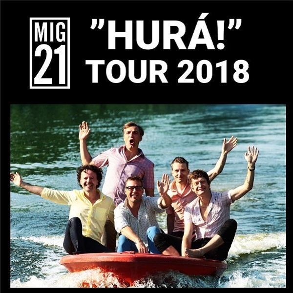 """Mig 21 """"Hurá!"""" Tour 2018"""