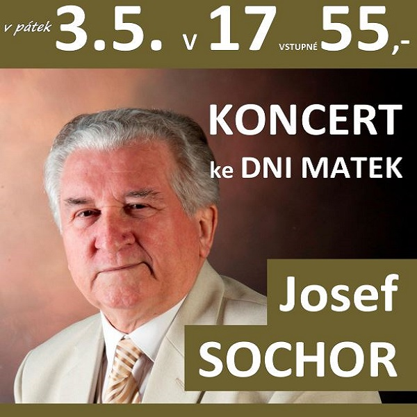 Josef Sochor - koncert ke Dni Matek