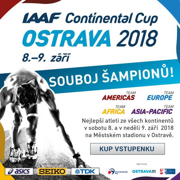 Kontinentální pohár v atletice Ostrava 2018