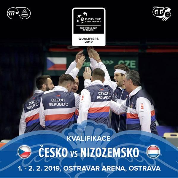 DAVIS CUP /  ČESKÁ REPUBLIKA vs NIZOZEMSKO