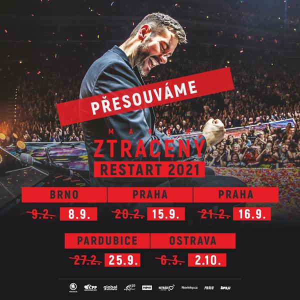 Marek Ztracený – RESTART 2021