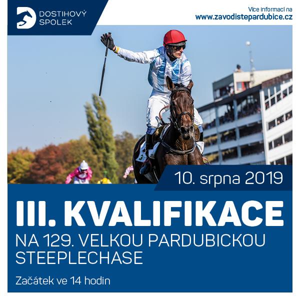 III. kvalifikace na 129. VP steeplechase 2019