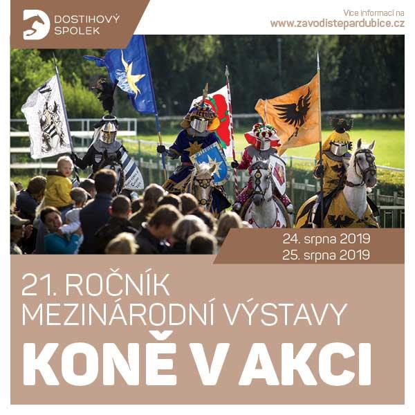 21. ročník mezinárodní výstavy Koně v akci 2019