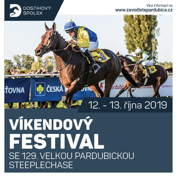 Víkendový festival se 129. VP steeplechase 2019