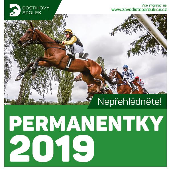 Celoroční permanentka 2019