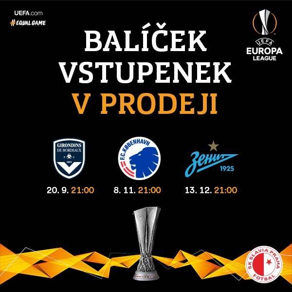 SK Slavia Praha - Balíček Evropské ligy