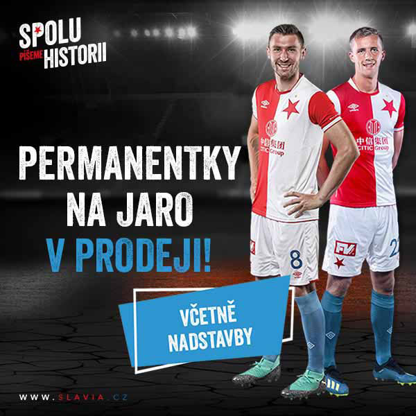 SK Slavia Praha - permanentky 2018/2019
