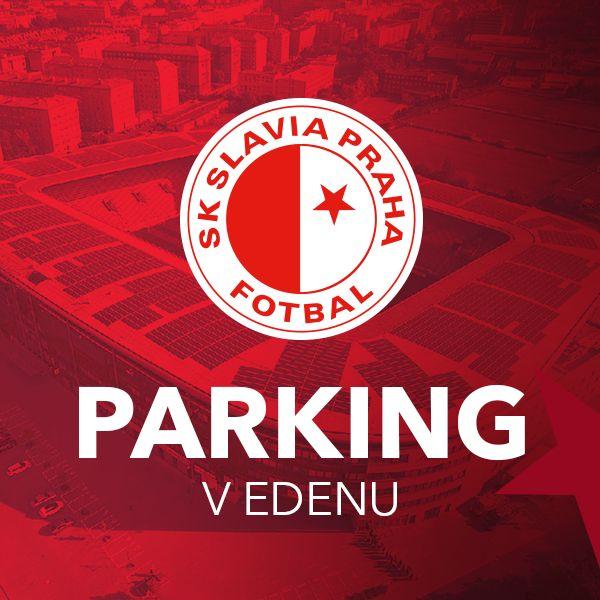 SK Slavia Praha - Parkovací lístek