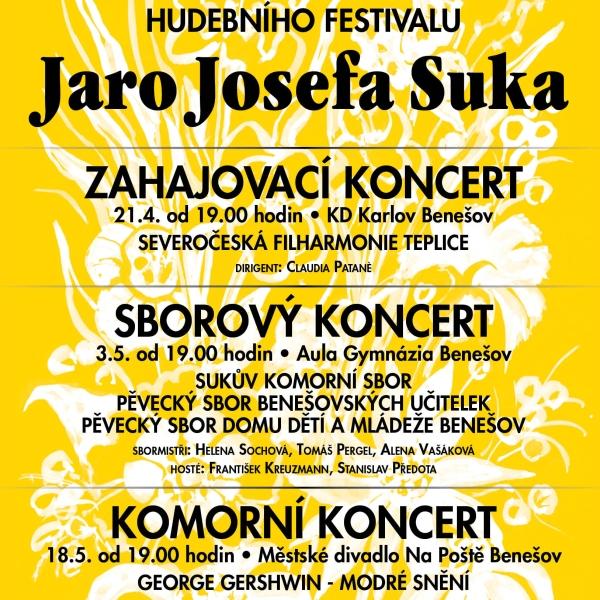 Jaro Josefa Suka 2020 - Komorní koncert