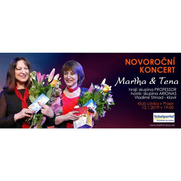MARTHA & TENA ELEFTERIADU - NOVOROČNÍ KONCERT