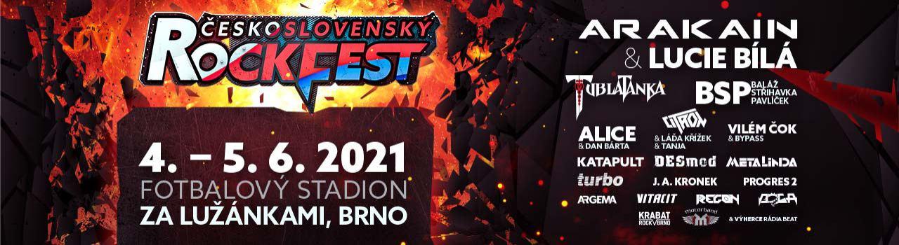 ČESKOSLOVENSKÝ Rockfest 2021