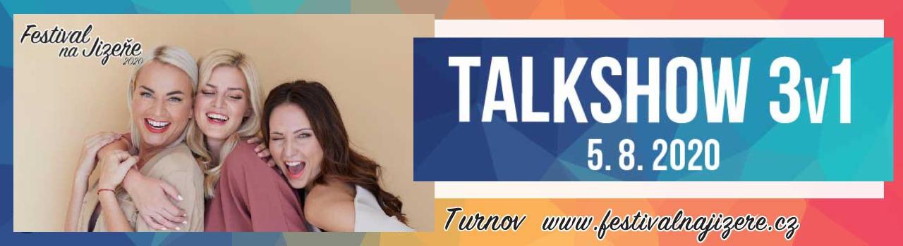 3V1 TALK SHOW, Turnov