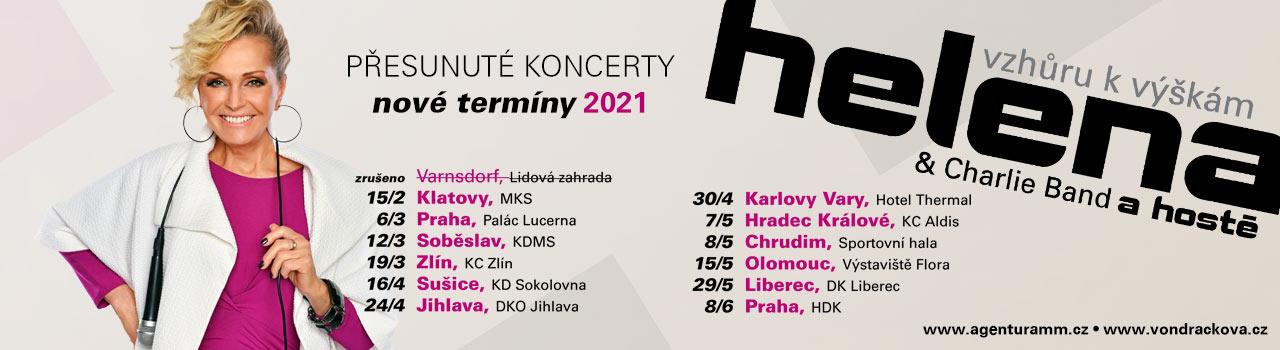 HELENA VONDRÁČKOVÁ 2021