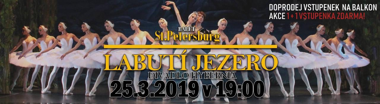 Balet St. Petersburg - LABUTÍ
