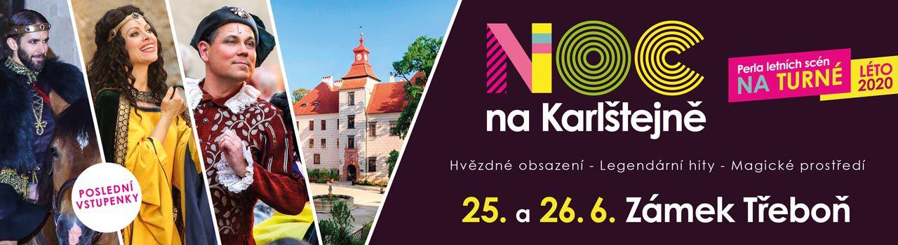 NOC NA KARLŠTEJNĚ, Třeboň -