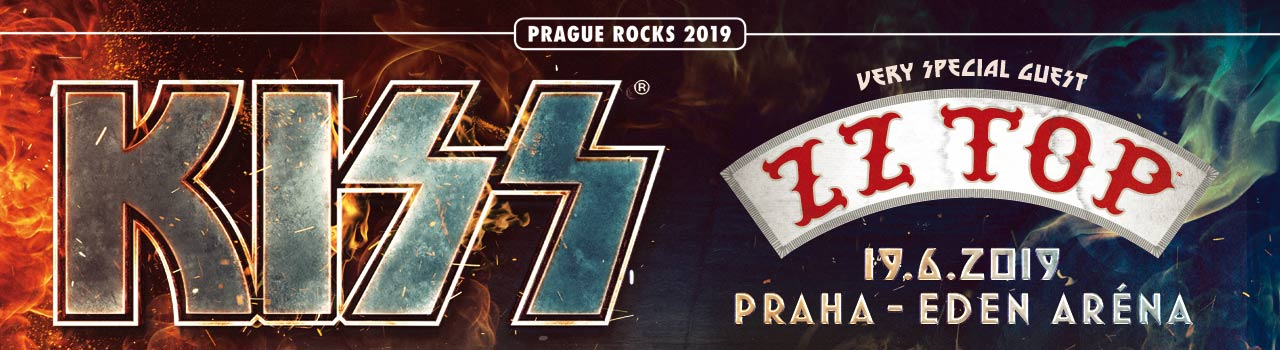 PRAGUE ROCKS 2019/ KISS - ZZ T