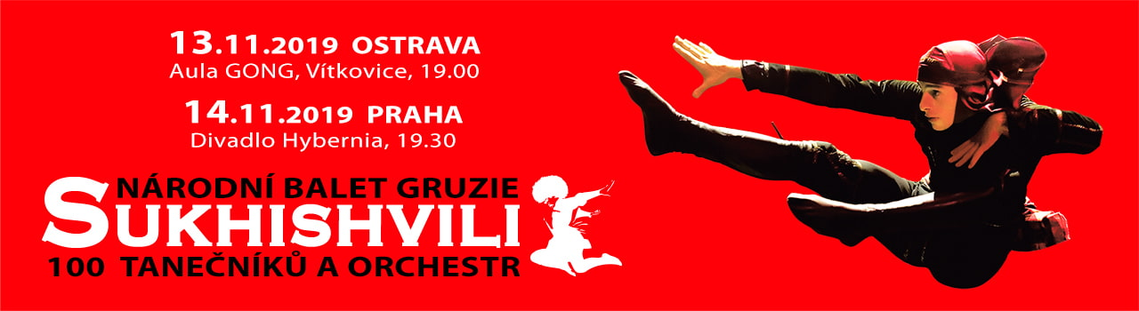 Národní balet Gruzie SUKHISHVI