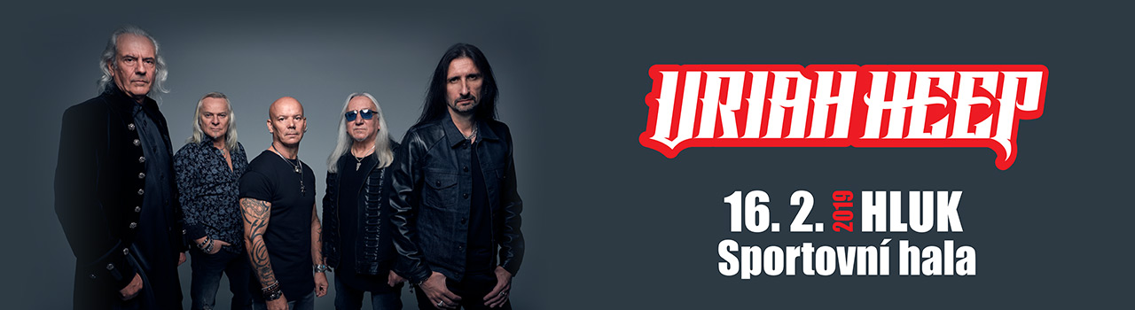 URIAH HEEP (UK) - Hluk 2019