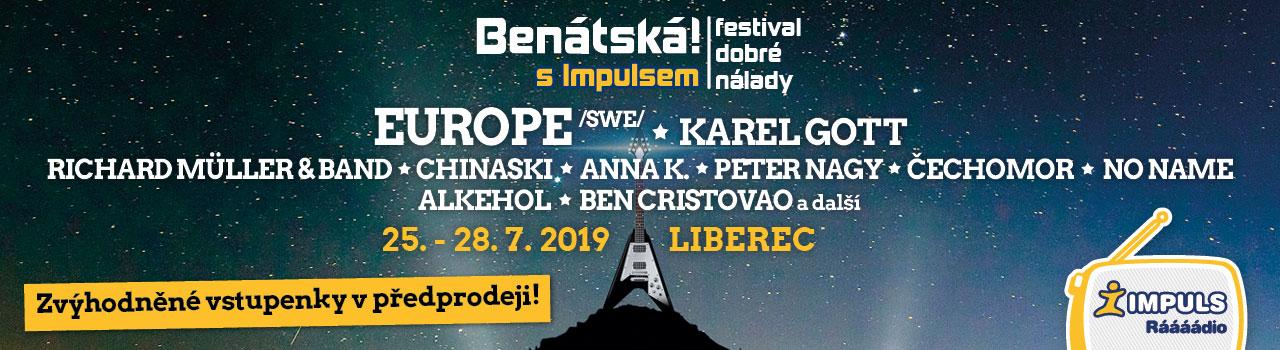 BENÁTSKÁ! S IMPULSEM 2019