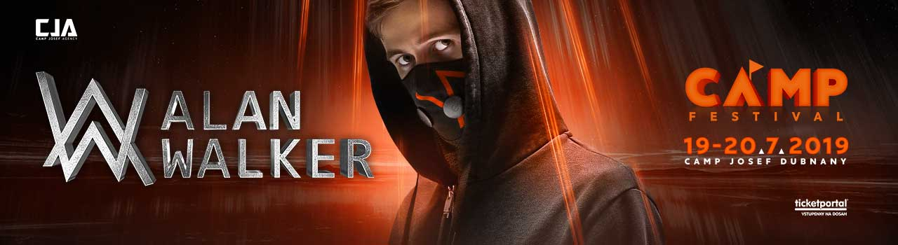 ALAN WALKER - CAMP FESTIVAL