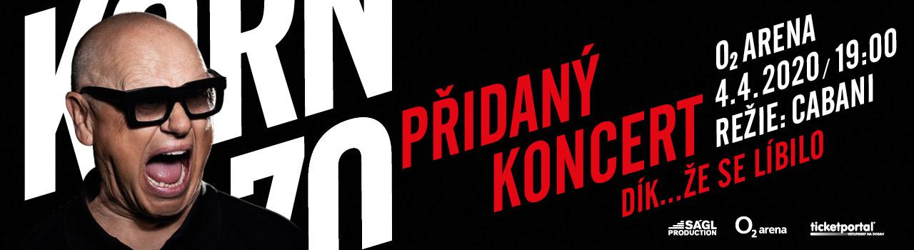 Jiří Korn - Přidaný koncert -