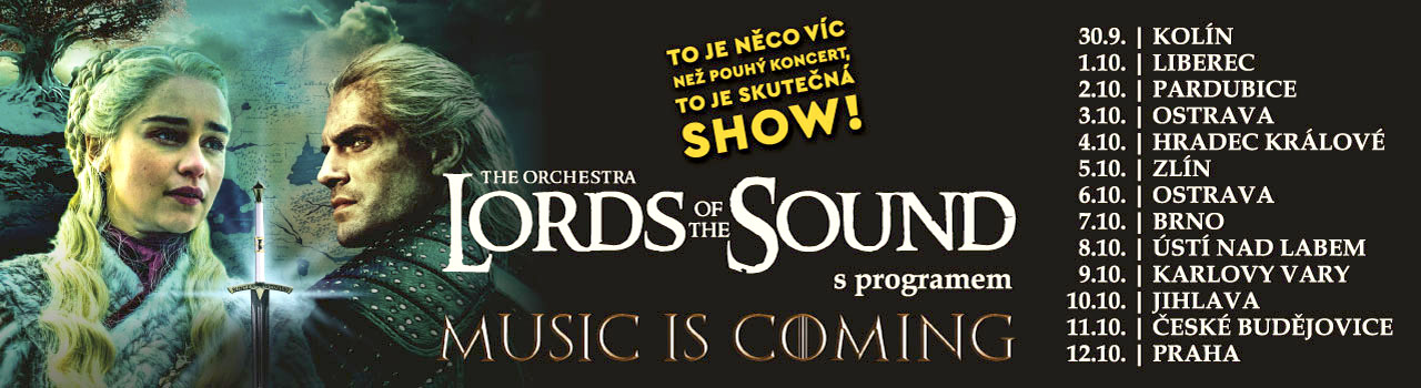 LORDS OF THE SOUND v programu