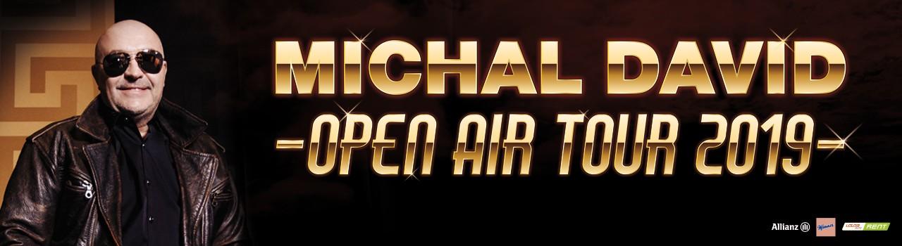 MICHAL DAVID OPEN AIR