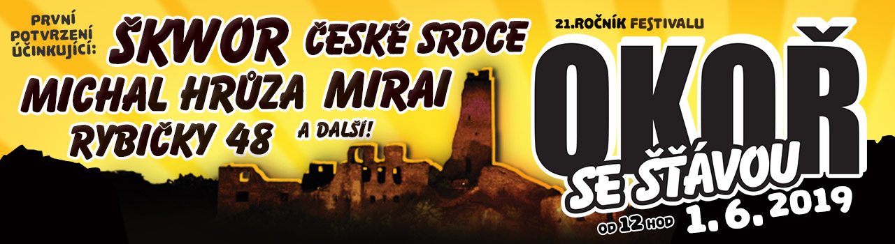 Okoř se šťávou 2019 - Open air