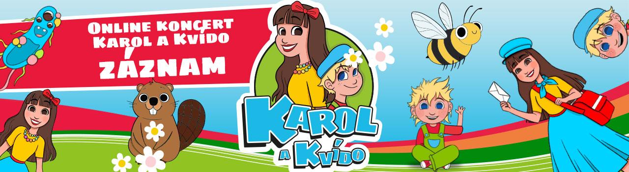 Online koncert Karol a Kvído -