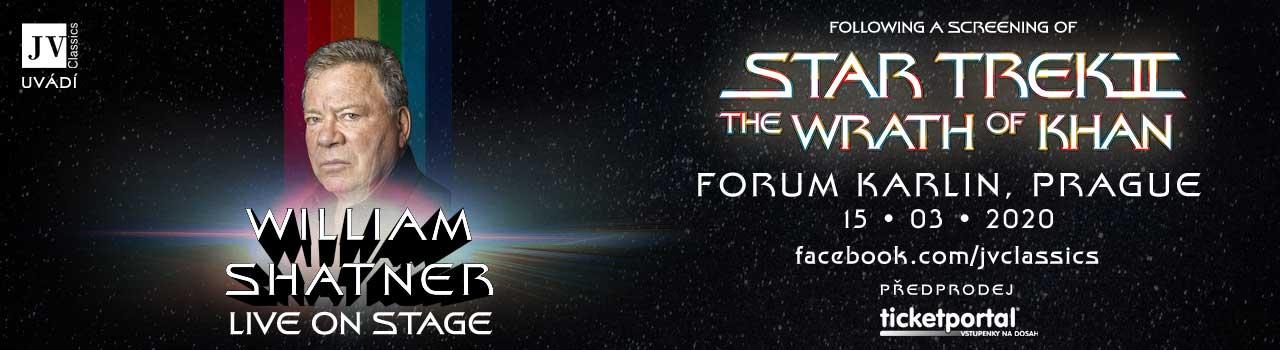 William Shatner Live on Stage