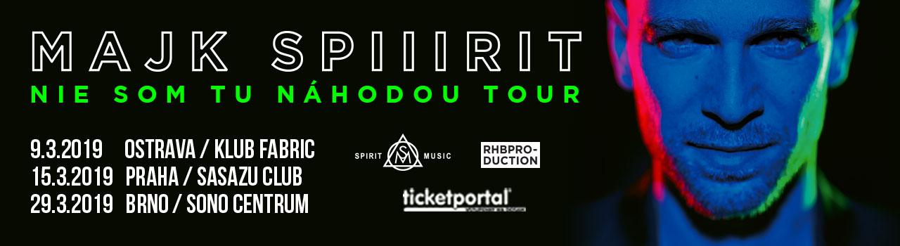 MAJK SPIRIT TOUR + KRST ALBUMU